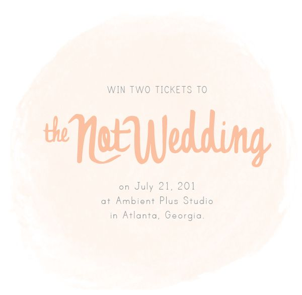 The Not Wedding