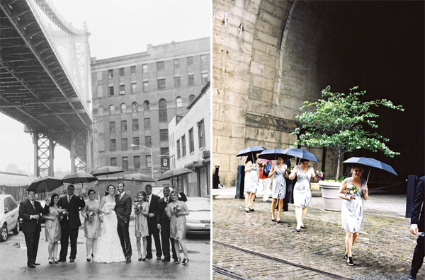 Brooklyn Rainy Wedding