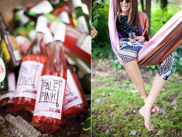 Pale Pink Drinks