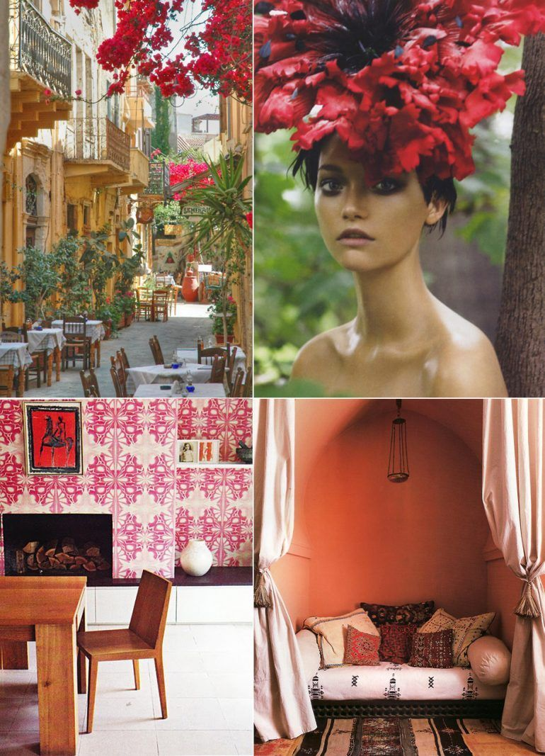 Red Pink Coral Inspiration