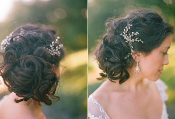 Soft Wedding Updo Hair