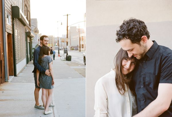 NYC Engaged Couple
