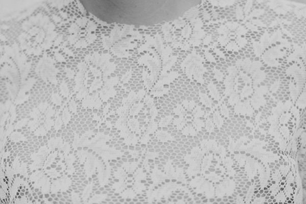 Bridal Lace Top Cover Up Once Wed