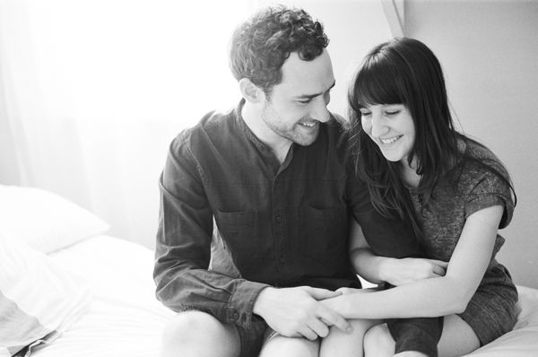 Engagement Pictures Black And White