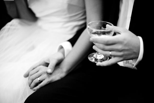 Hands Drink Wedding Reception