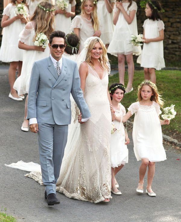 Kate Moss Wedding Party