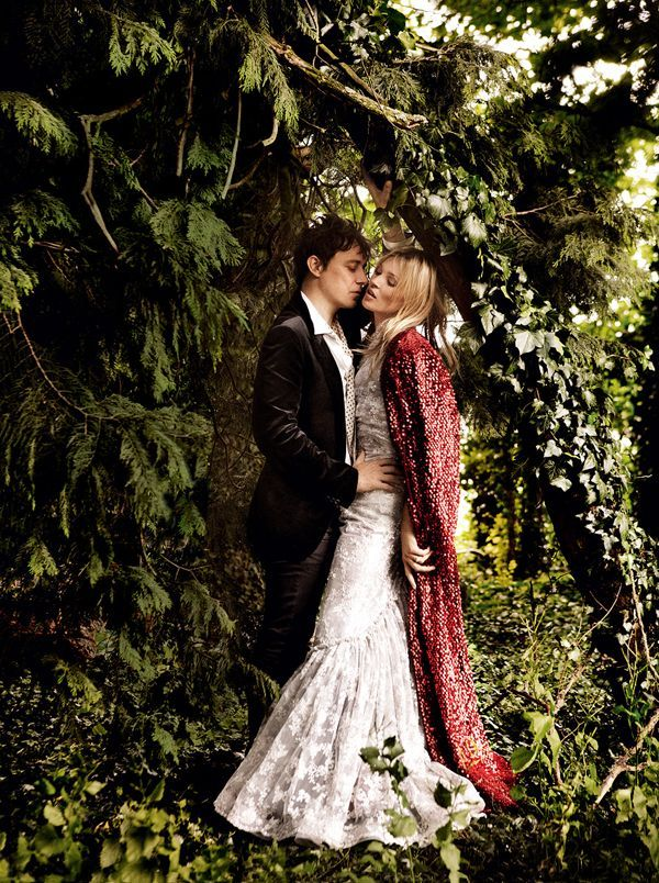Kate Moss Wedding Woodland