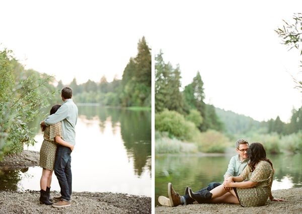 Riverside Engagement Ideas Once Wed