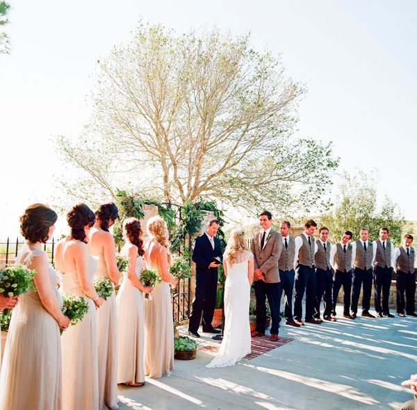 Wedding Ceremony Natural Outdoors