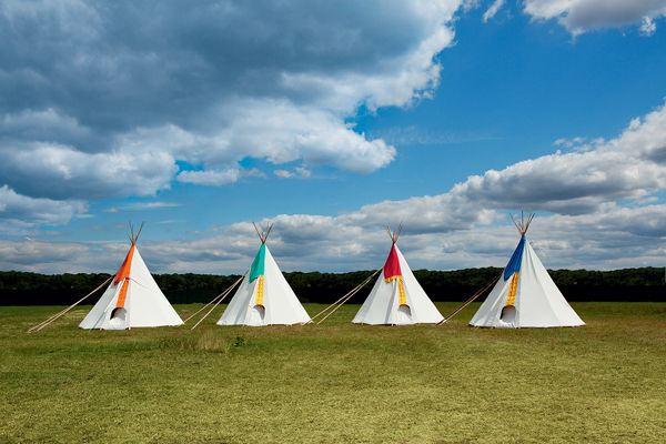 Wedding Reception Ideas Kids Teepees