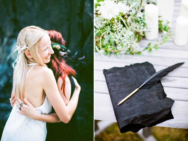 Black And Green Wedding Ideas