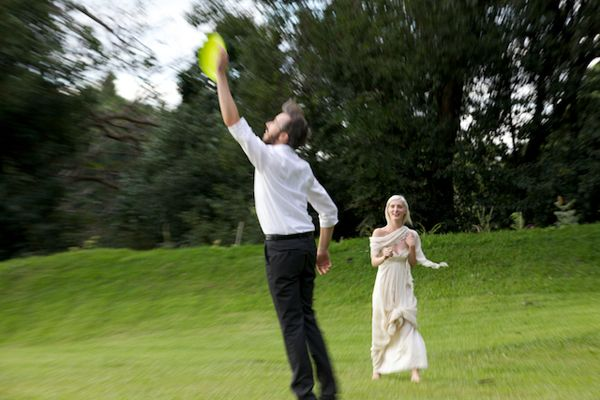 Frisbee Wedding Ideas