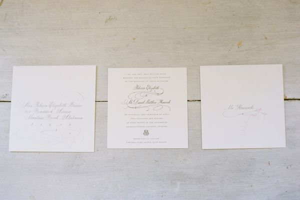 Simple Wedding Invitation Ideas