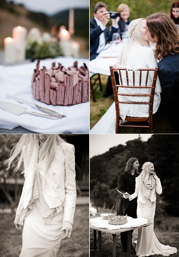 Unique Chocolate Wedding Cake Ideas