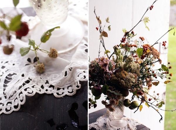 Doily Wedding Centerpiece Ideas