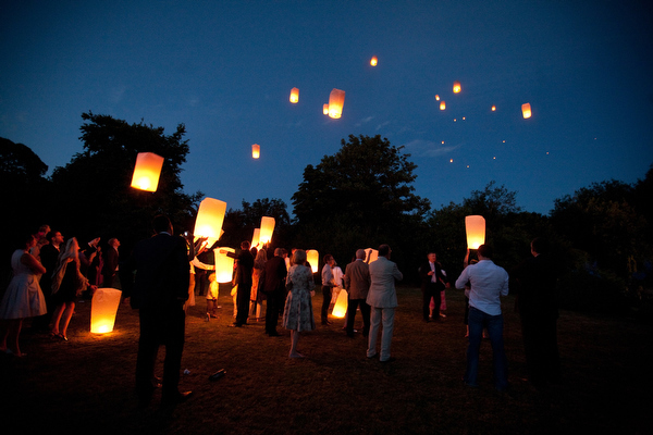 Sky Lantern Wedding Ideas