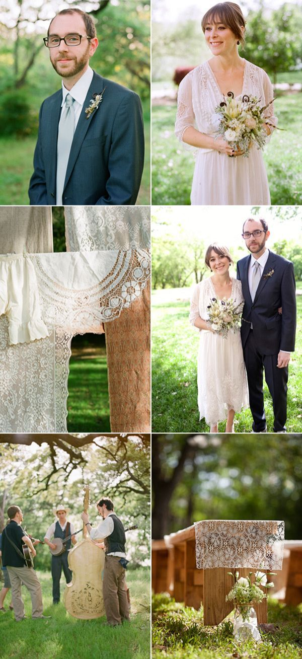 Unique Lace Wedding Ideas