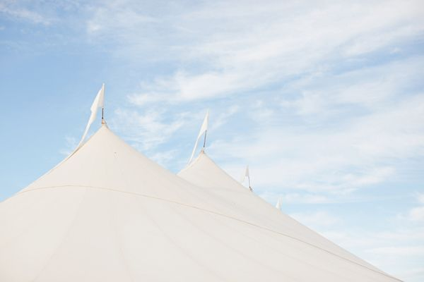 Unique White Wedding Tent Ideas