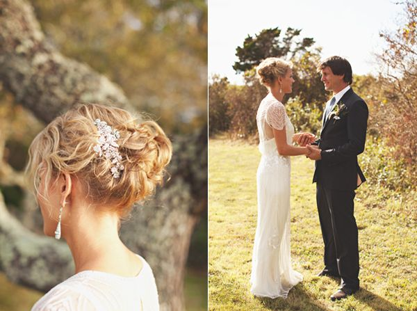 Vintage Diamond Wedding Hairpiece