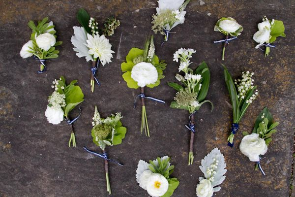Diy Wedding Boutonniere Tutorial