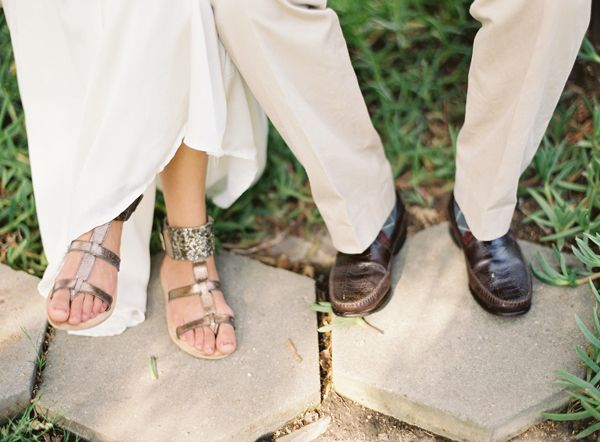 Gladiator Wedding Sandals
