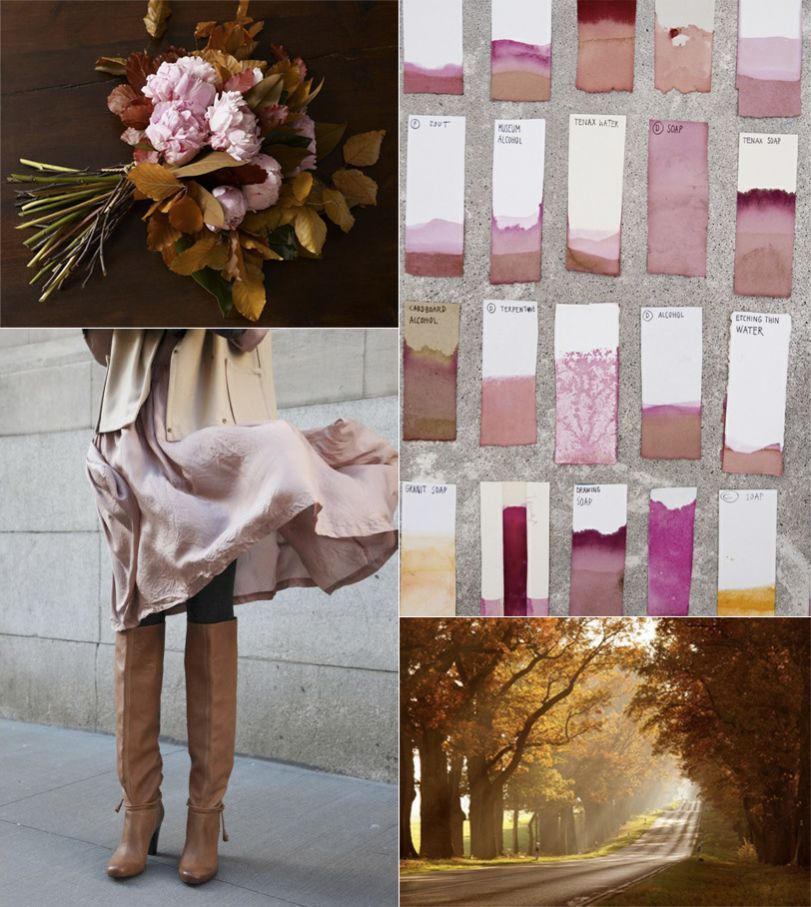 Rose Pink Fall Wedding Ideas