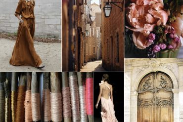 Sienna Brown Blush Hot Pink Fall Wedding Ideas
