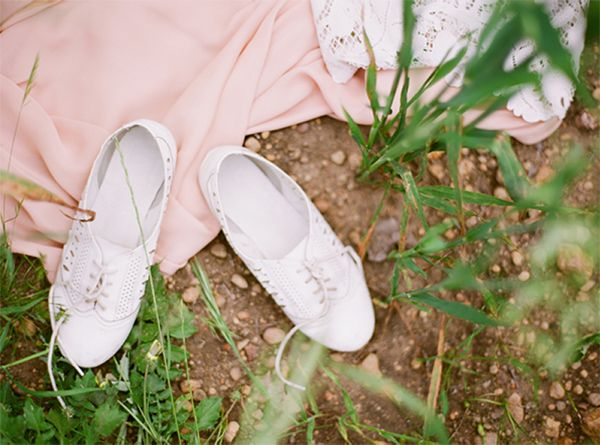 White Wedding Oxfords