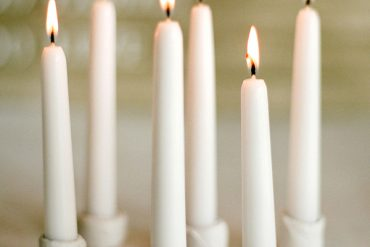 DIY Wedding Christmas Candles Simple Easy Candleholder Idea