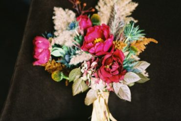 Gold Fall Wedding Bouquet