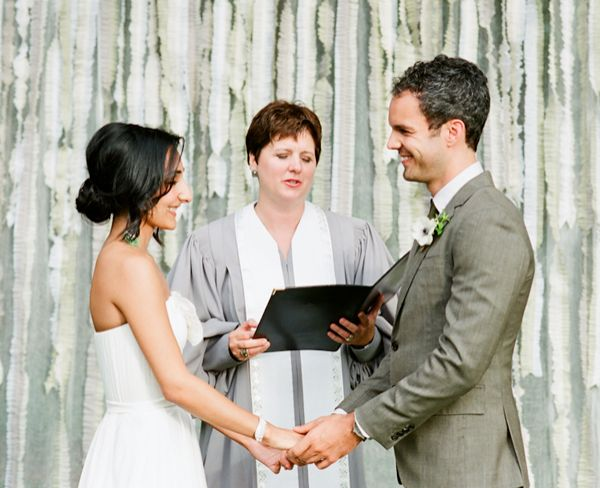 Green Fabric Ceremony Background