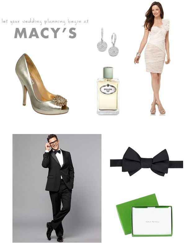 Plan your wedding with Macy's!