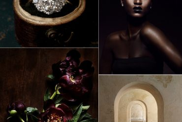 Merlot Burgandy Black Earthy Glam Wedding Ideas