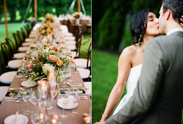 A Laid Back Backyard Wedding - Once Wed