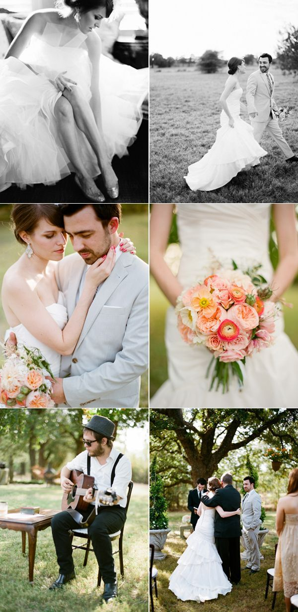 Sweet Texas Backyard Wedding