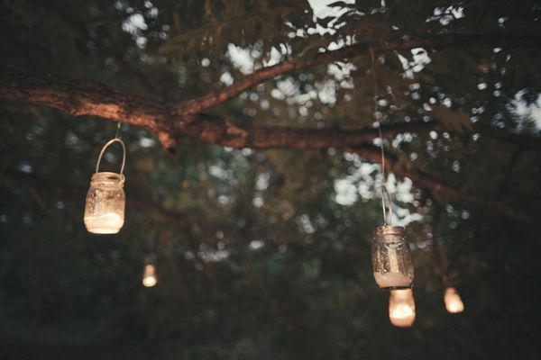 Diy Mason Jar Wedding Lights