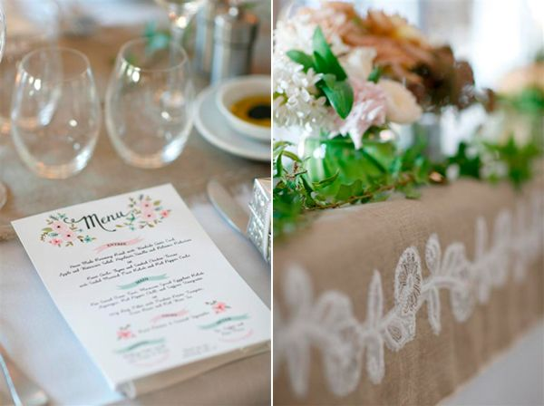 Diy Wedding Menu Ideas
