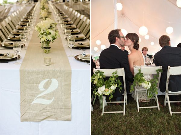 diy-wedding-table-runner-ideas - Once Wed