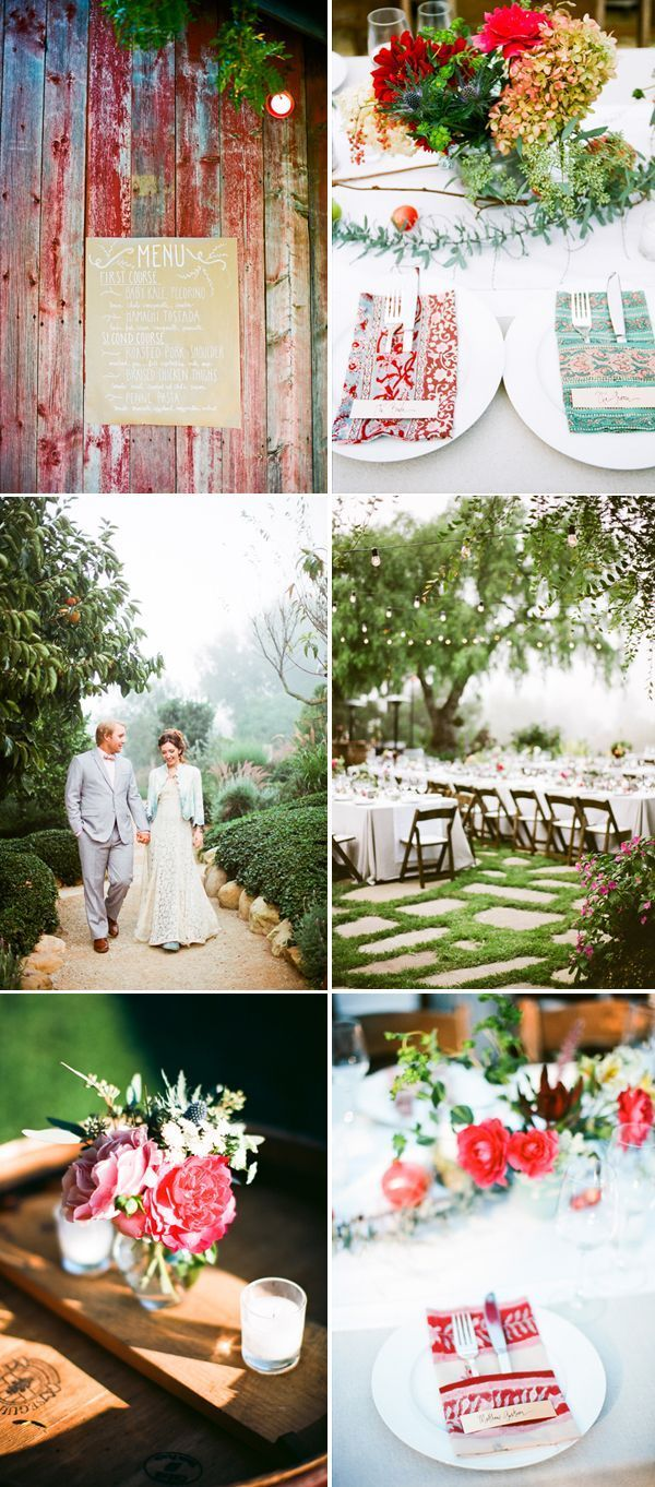 Ecletic Wedding Ideas