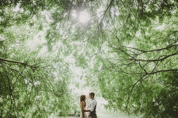 Green Forest Wedding Ideas