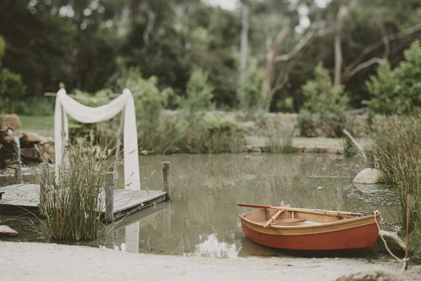 Lakeside Ceremony Wedding Ideas