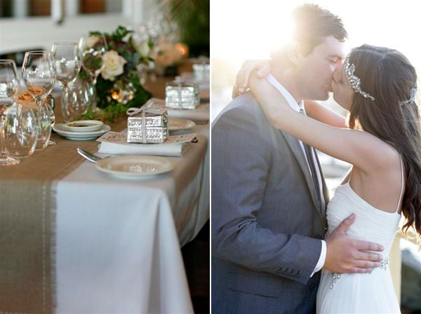 Linen Tablecloth Runner Wedding Ideas