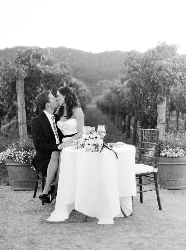 Napa Vineyard Elopement Ideas