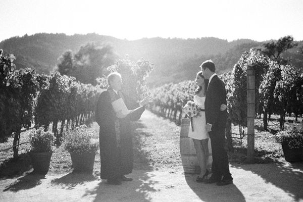 Vineyard Elopement Ideas