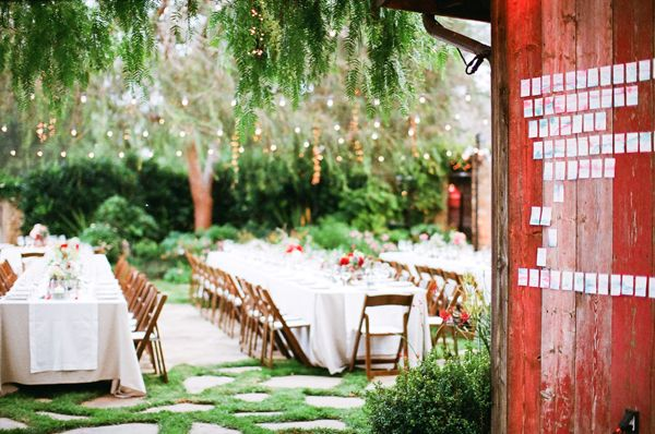 Outdoor Wedding Ideas: Eclectic Watercolor Wedding