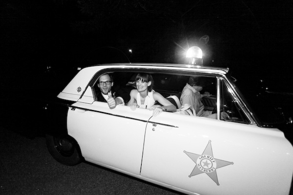 wedding-sheriff-getaway-car
