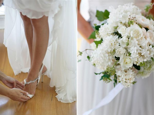 White Elegant Wedding Bouquet