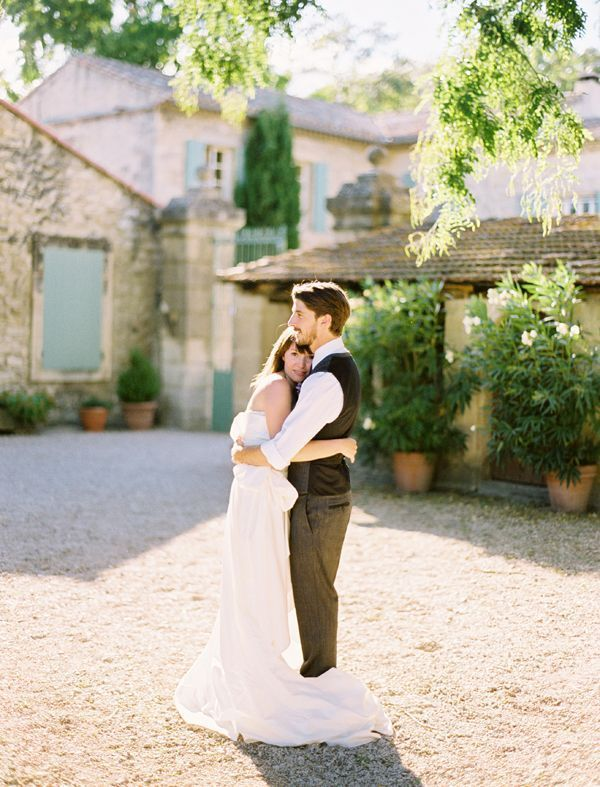 Elegant French Countryside Wedding Once Wed