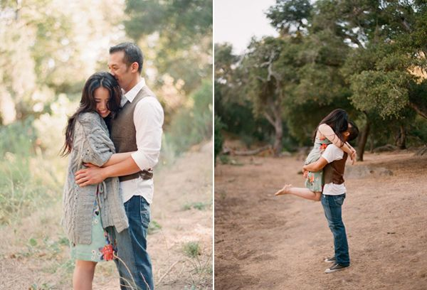 Elizabeth Messina Engagement Examples