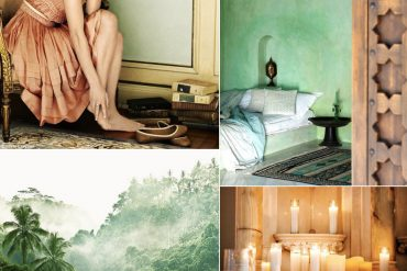 Exotic Soft Green Amber Destination Wedding Ideas